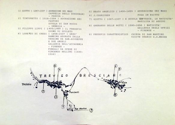Volantino Presepi 1995-Retro